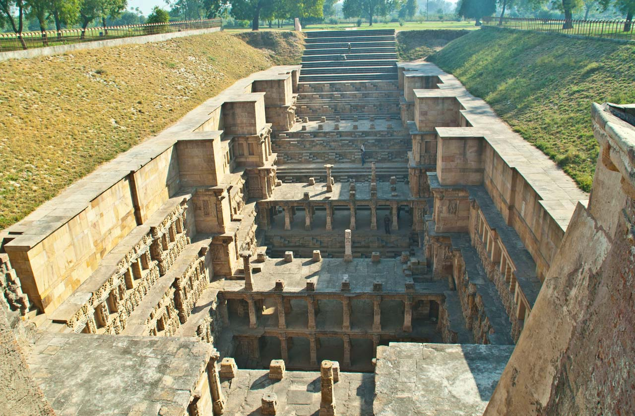 Beautiful Queen's Stepwell Rani ki Vav Patan in Gujarat