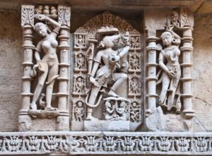 Sculptures on walls of Rani ki Vav Patan