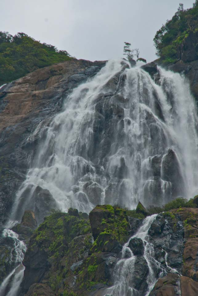 Dudhsagar Waterfall Goa in Monsoon