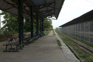 Platform Attari railway station Amritsar