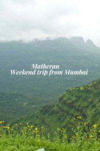 Matheran places to see