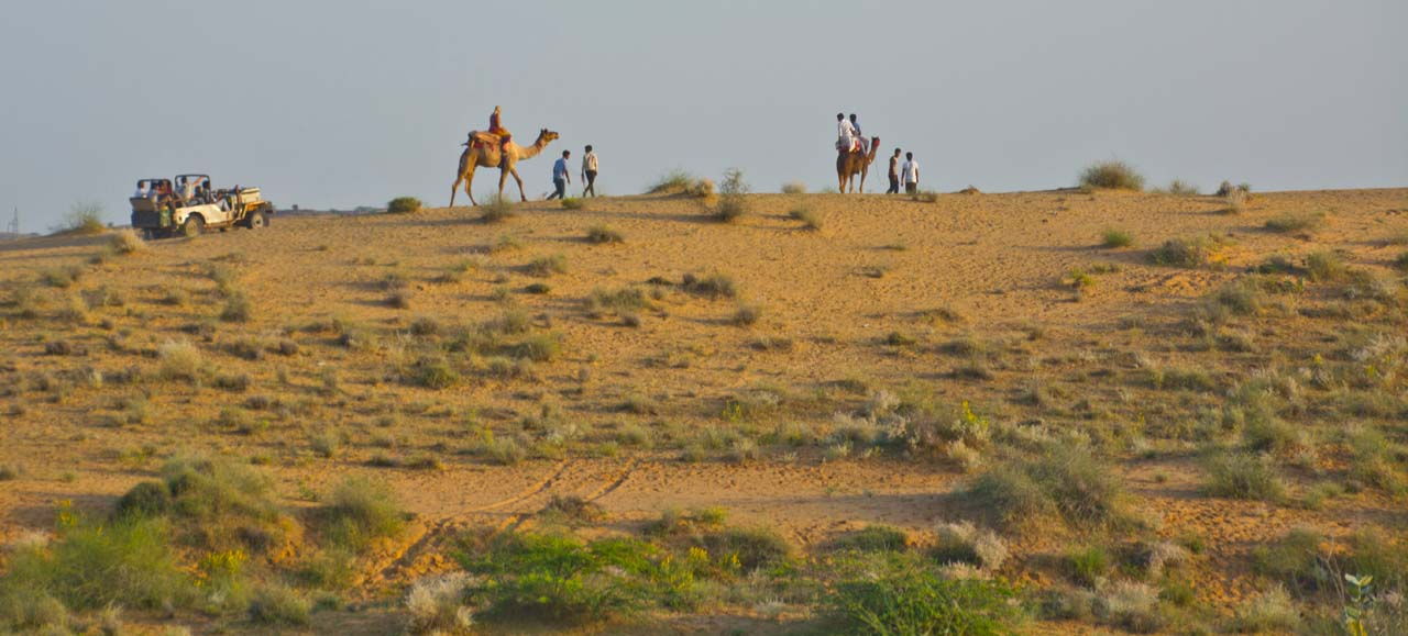 Osian Sand Dunes: You can Skip in Jodhpur