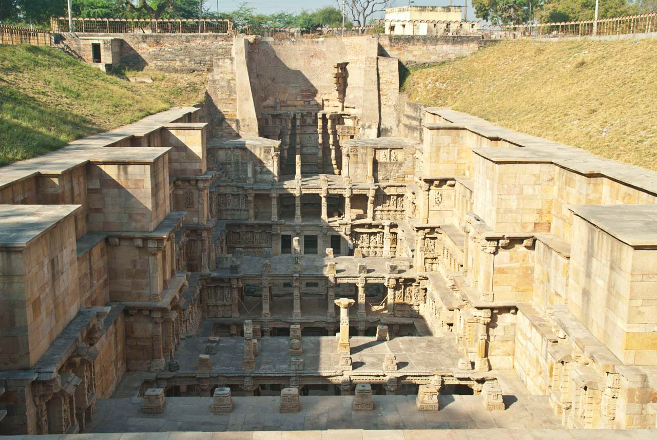 Rani ki Vav Back wall