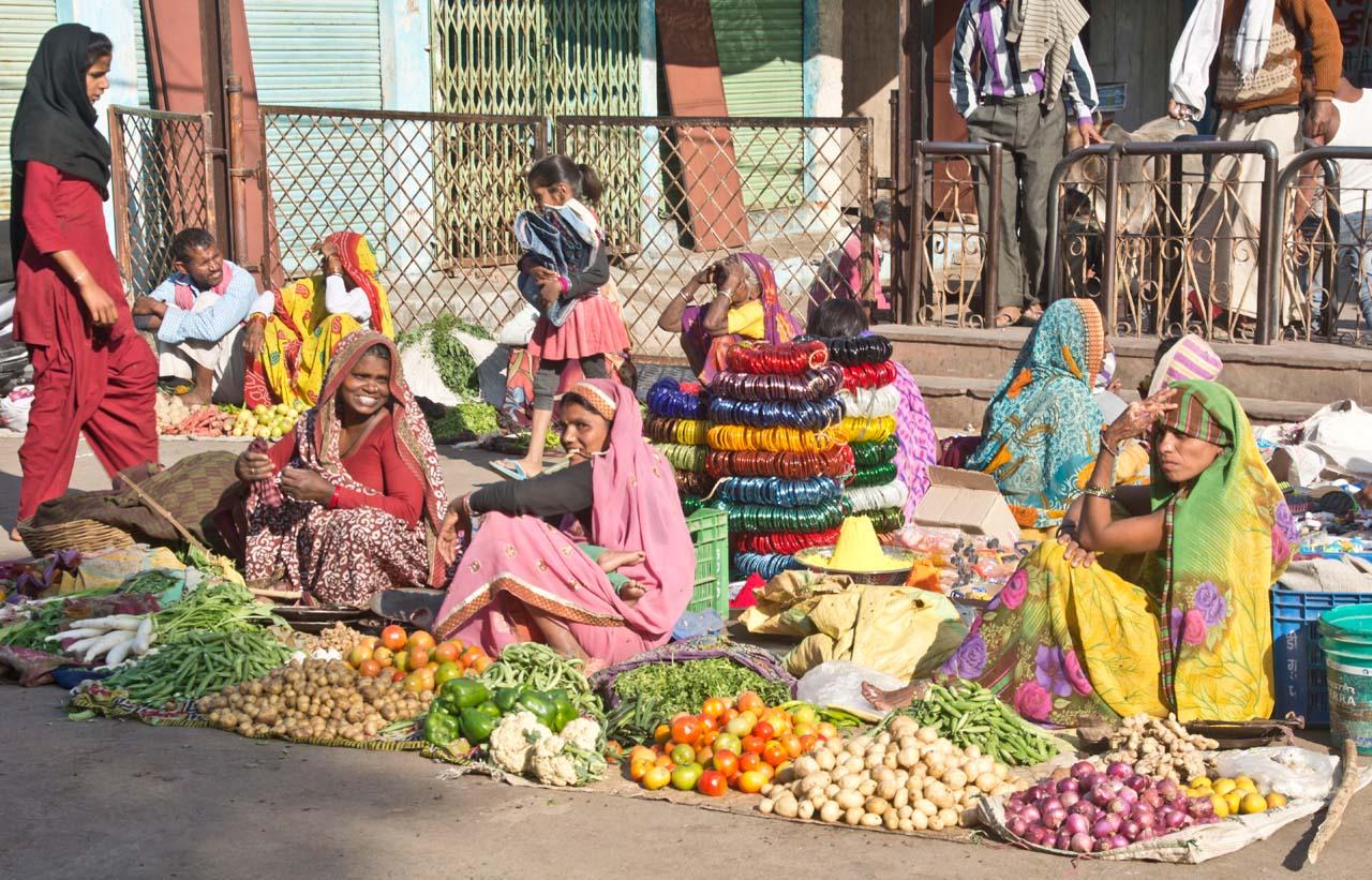 Orchha Market