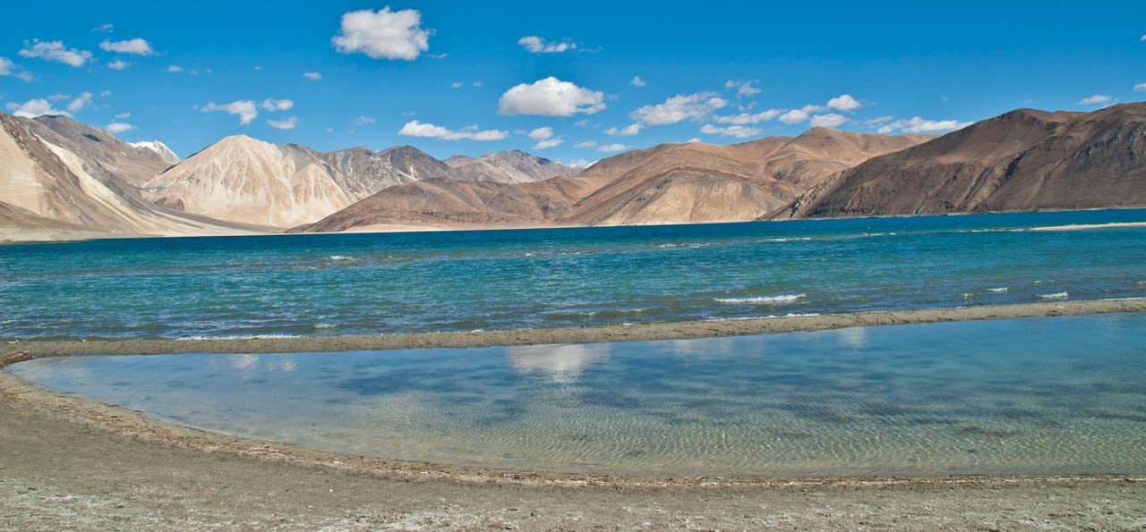 One Night at Pangong Lake Ladakh