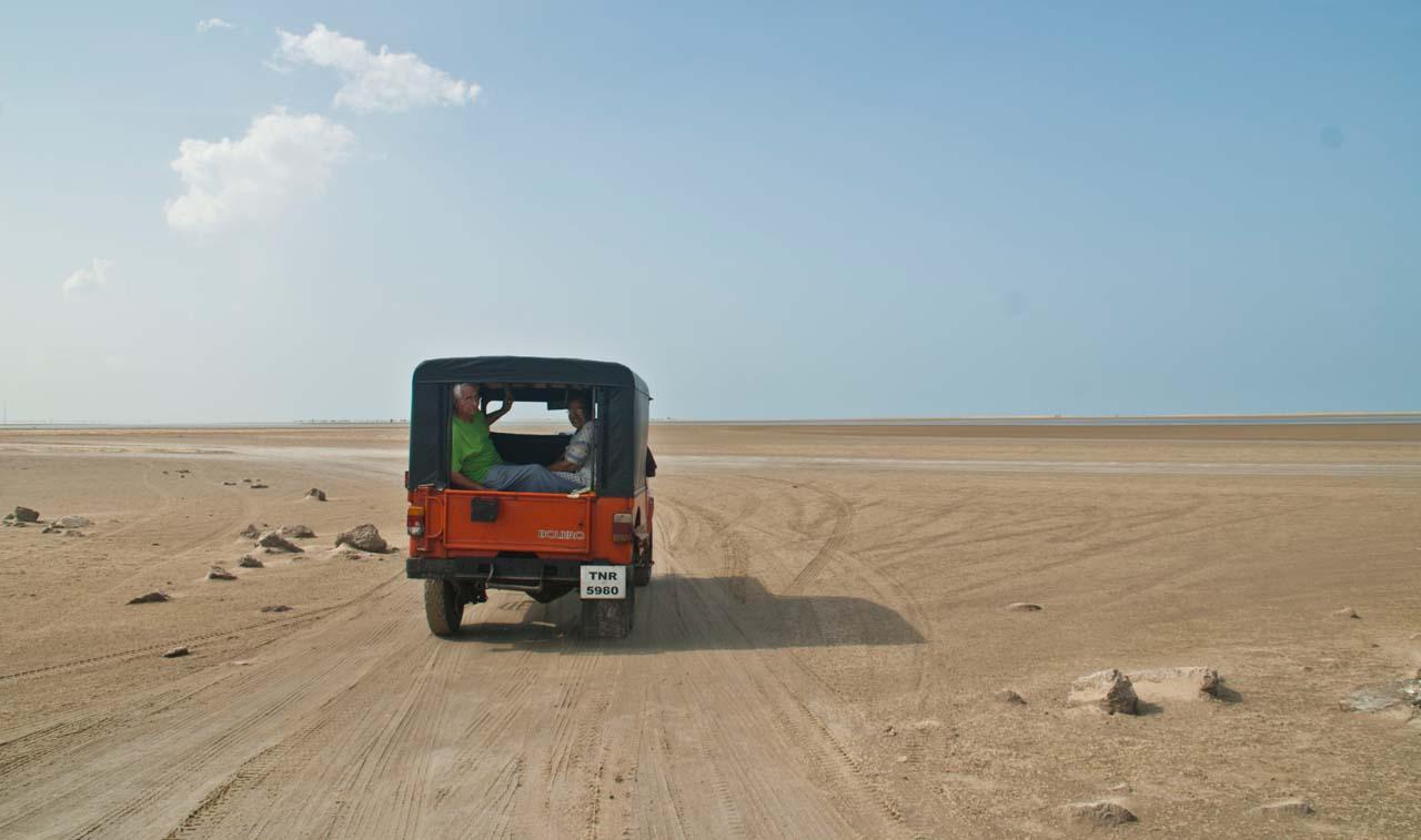Jeep to Dhanushkodi