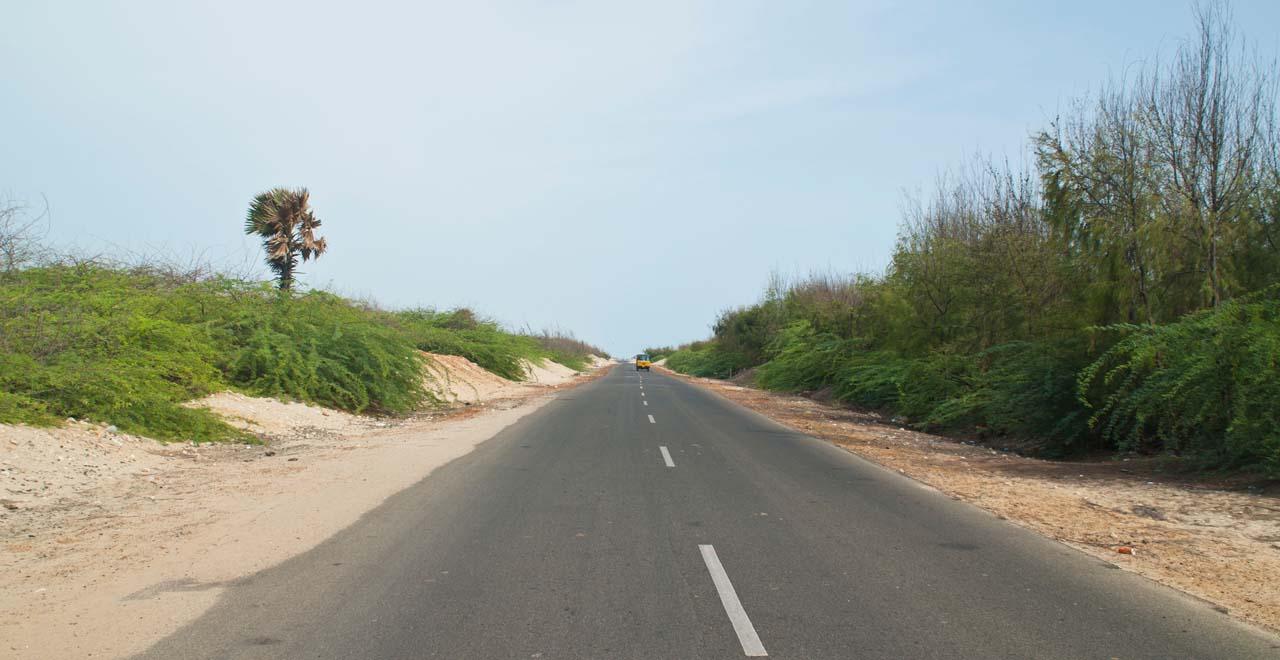 Road to Dhanushkodi