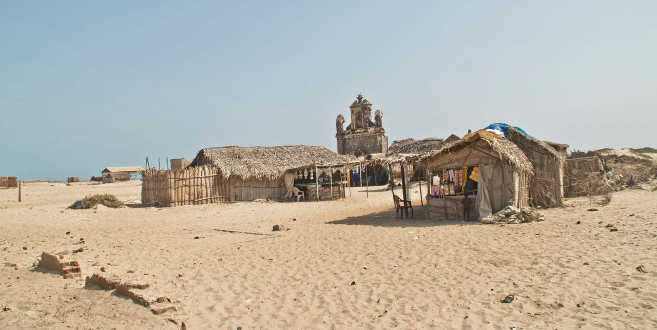 Settlement in Dhanushkodi