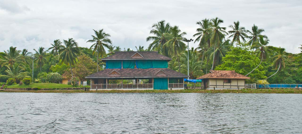 Side of backwaters Near Veli Village