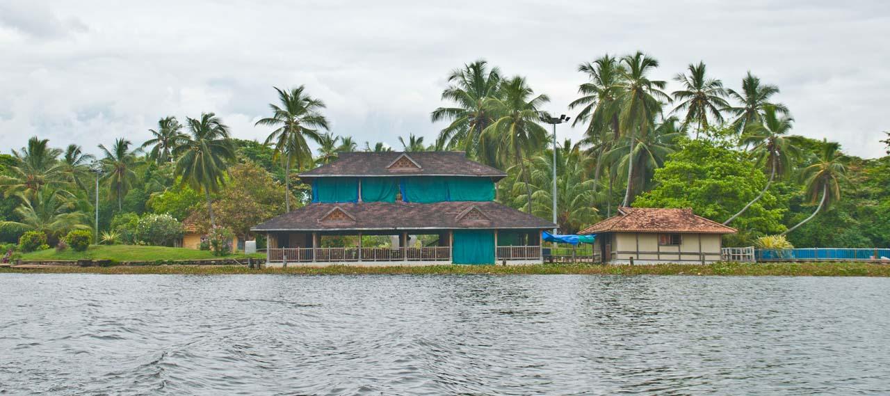 Side of backwaters Near Veli Village
