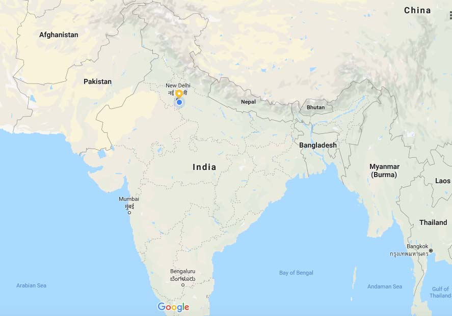 Bhutan in Map