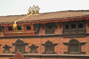 Kumari temple in Darbar Square Kathmandu Nepal
