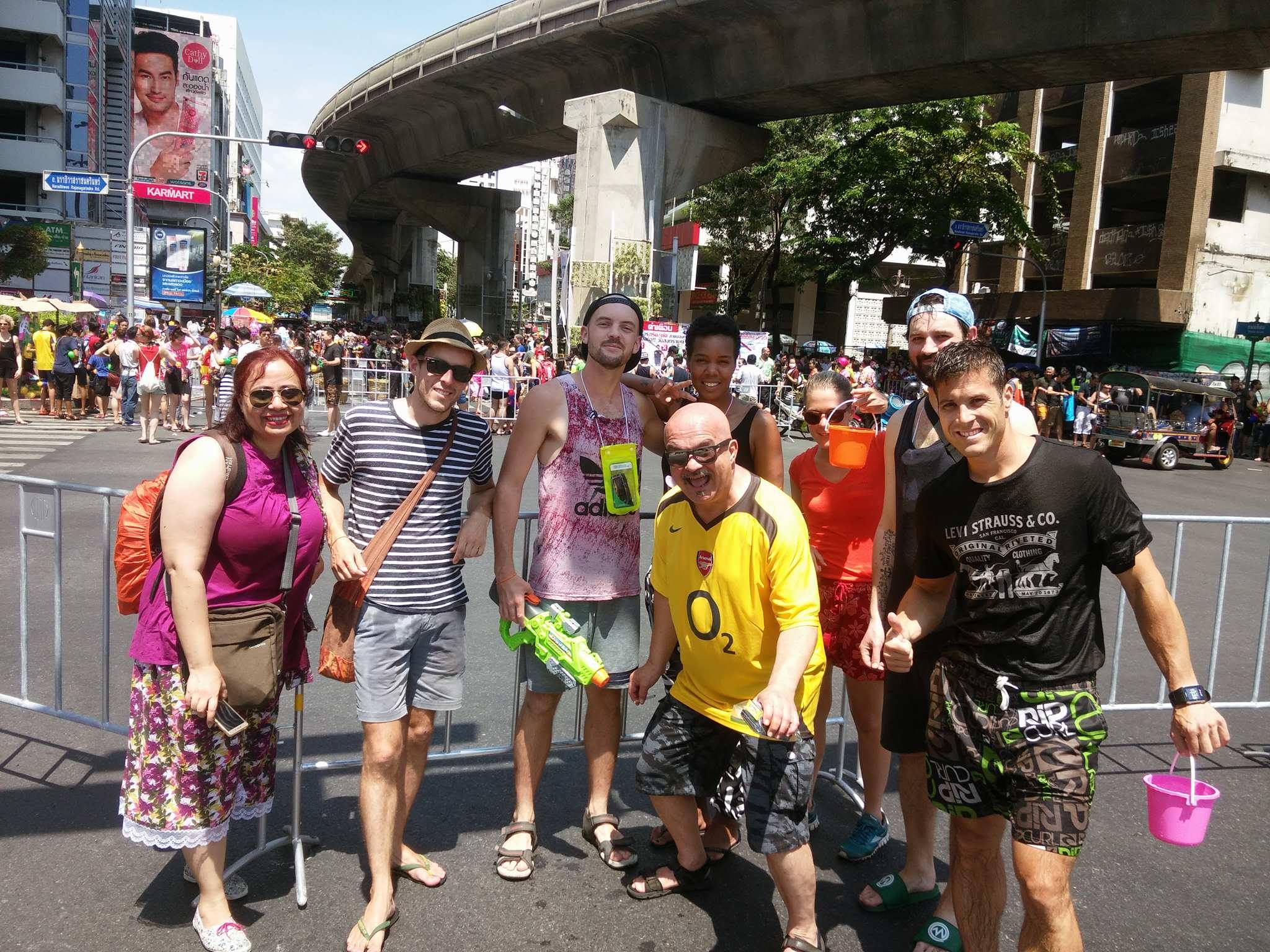 Our gang for Songkran