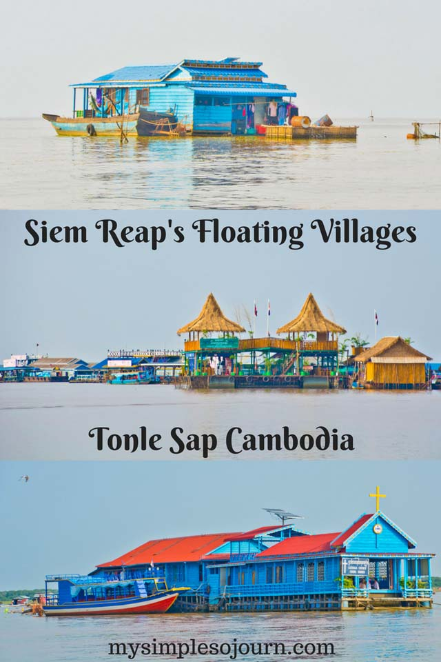 Siem Reap's Floating Villages - Tonle Sap Cambodia
