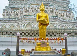 Buddha statue in wat arun Bangkok
