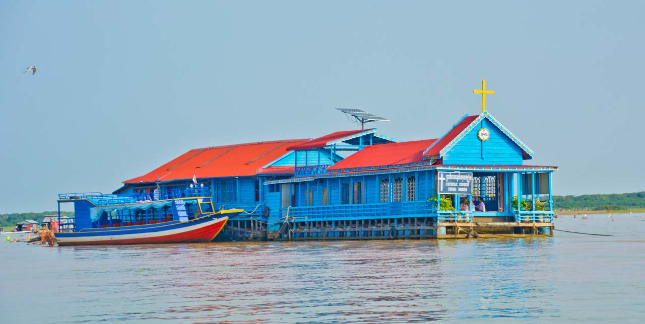 Siem Reap's floating villages
