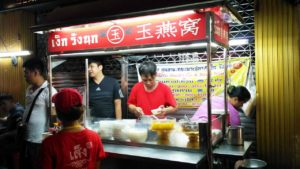Food stall in China town Bangkok