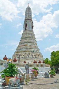 Stupa in Wat Arun Compound, Bangkok