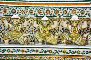 Wat arun temple decoration