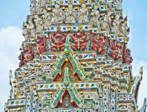 Wat arun temple decoration