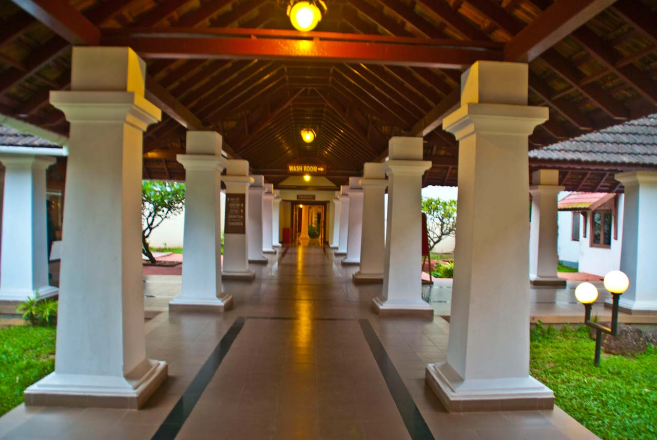 Bolgatty Palace and Island Resort Corridors