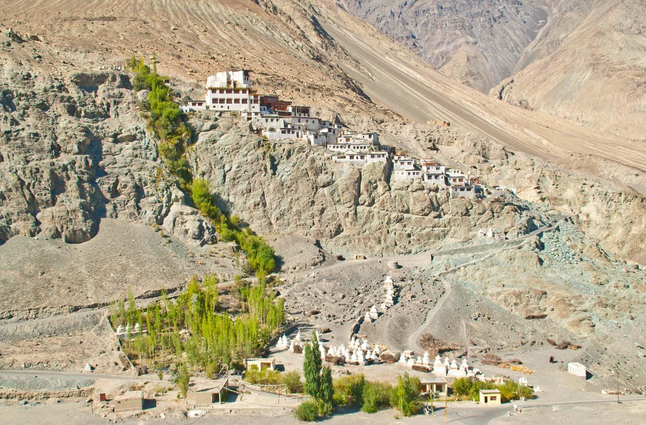 Diskit Monastry Nubra Valley