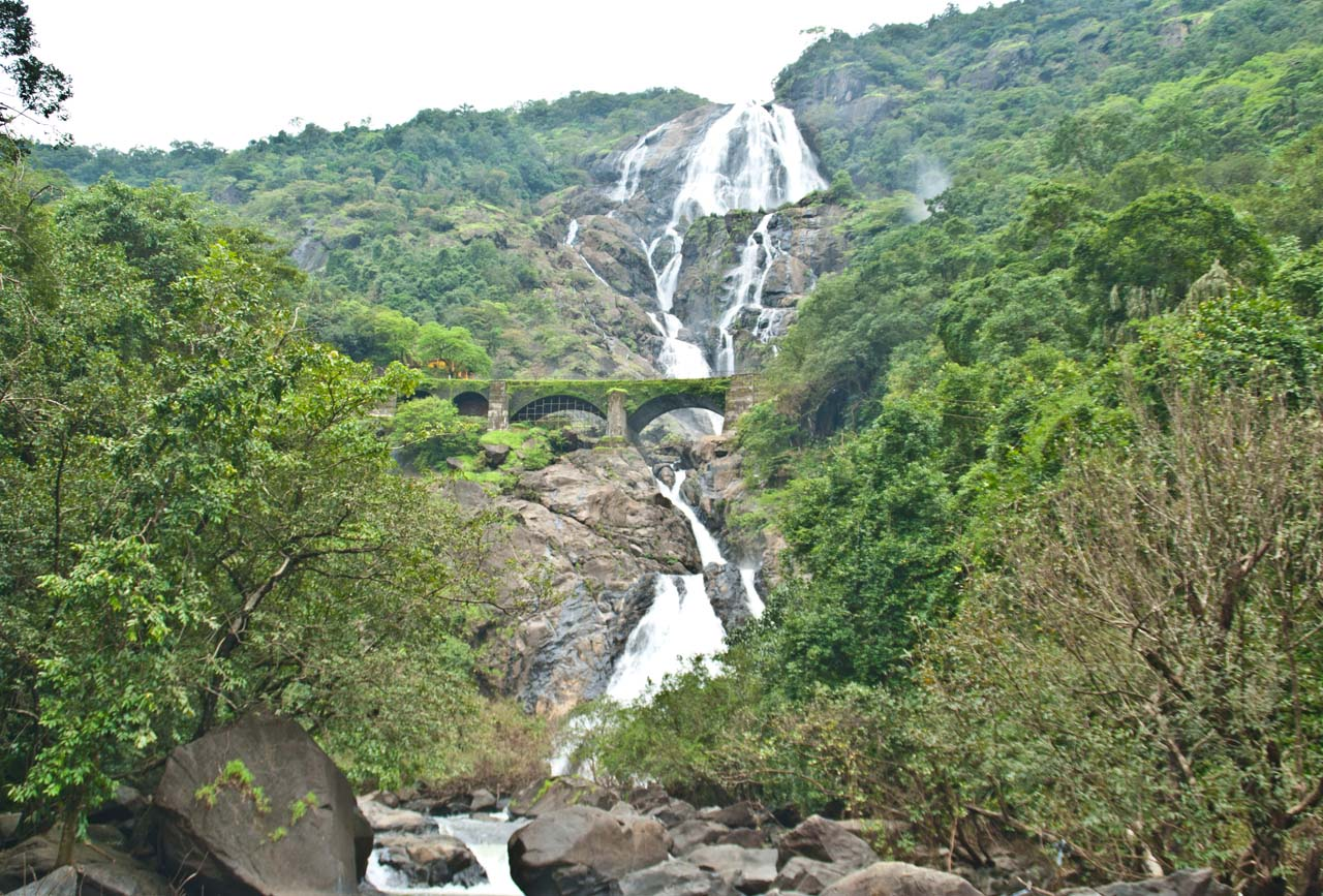 Dudhsagar Most Beautiful Places in India