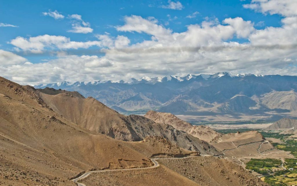 Leh to south pullu While driving from Leh to Nubra Valley Via Khardungla Pass