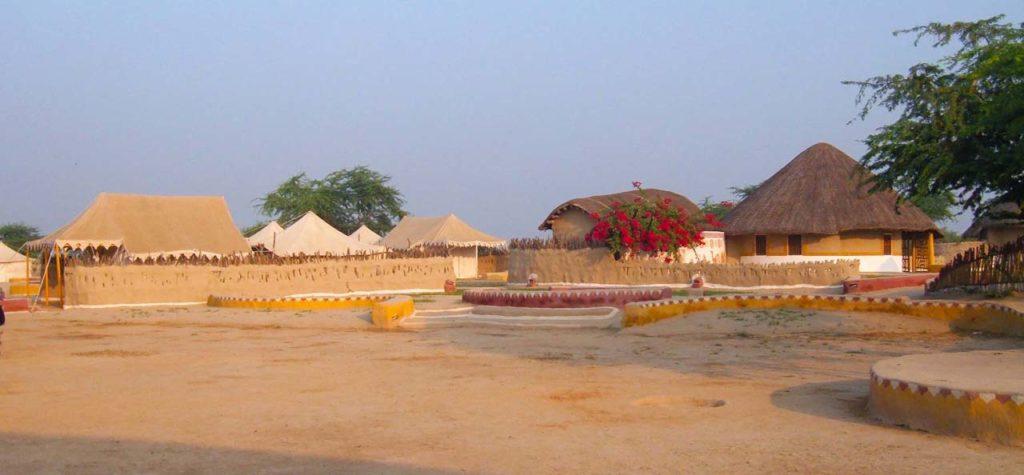 Resort overview Shaam-e-Sarhad Village Resort Kutch Gujarat