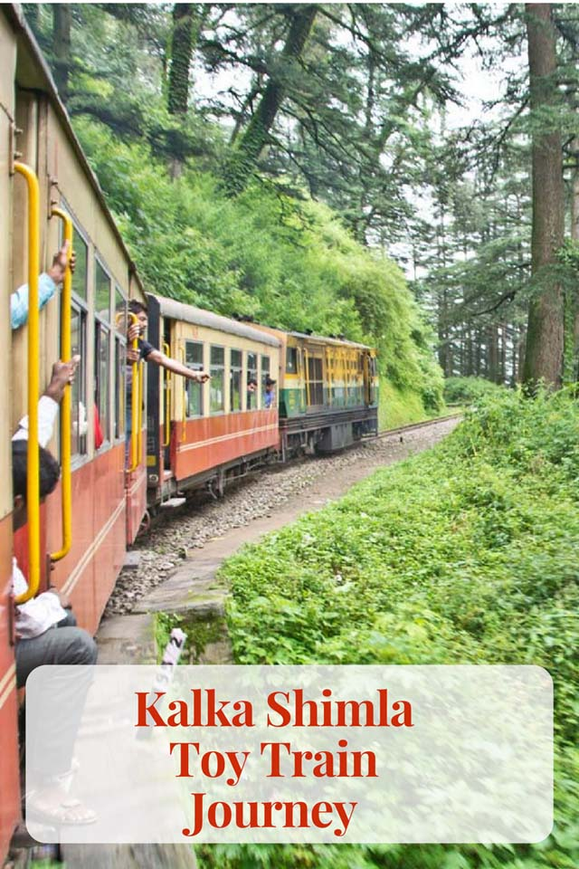 Kalka Shimla Toy Train Journey