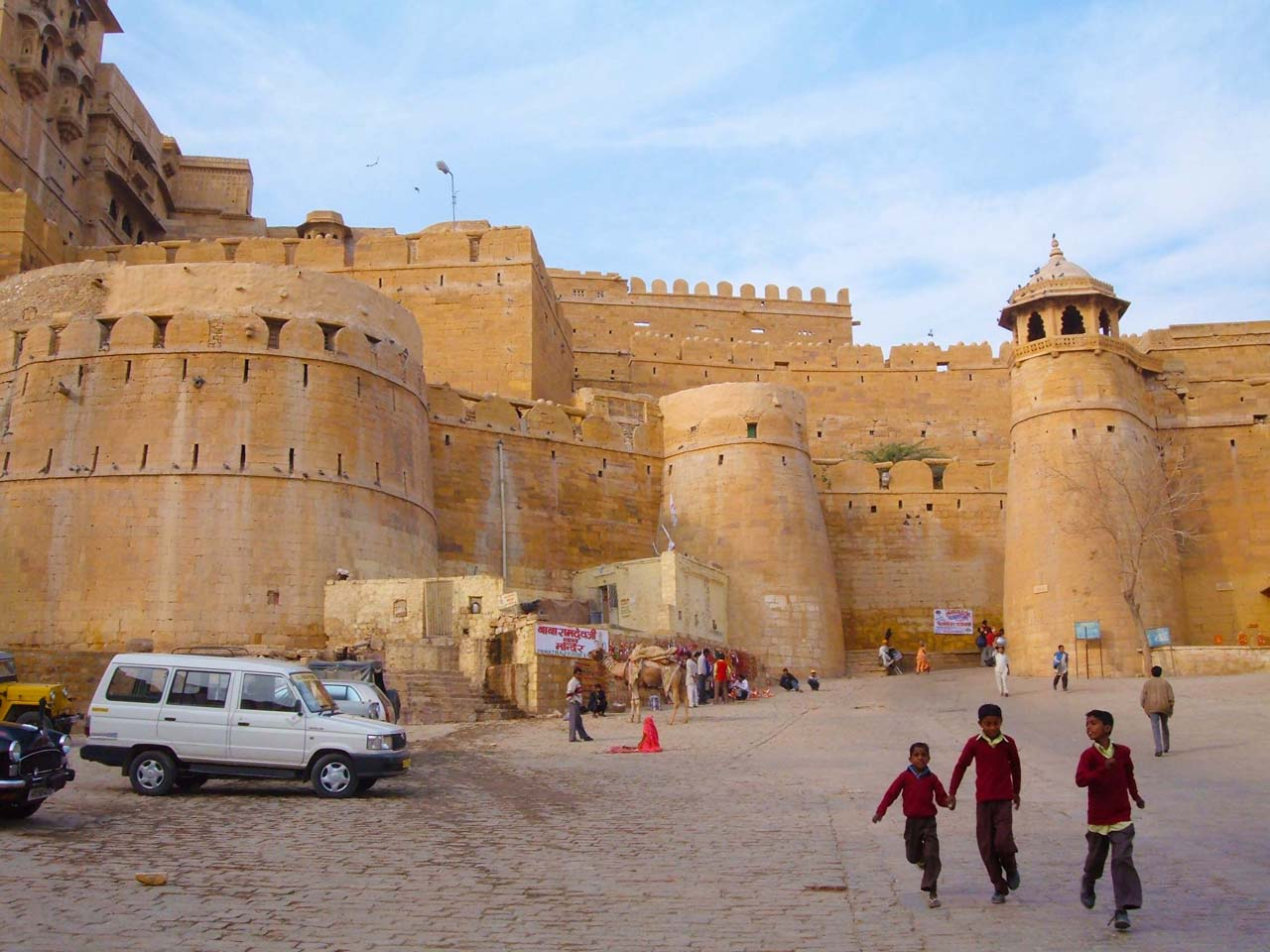 Jaisalmer Fort entry gate