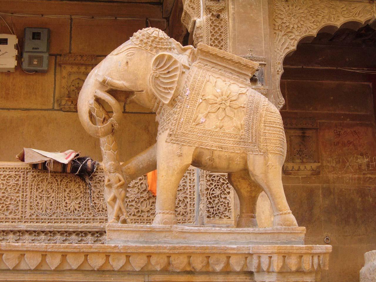 Salim singh ki Haveli - Jaisalmer's places to visit