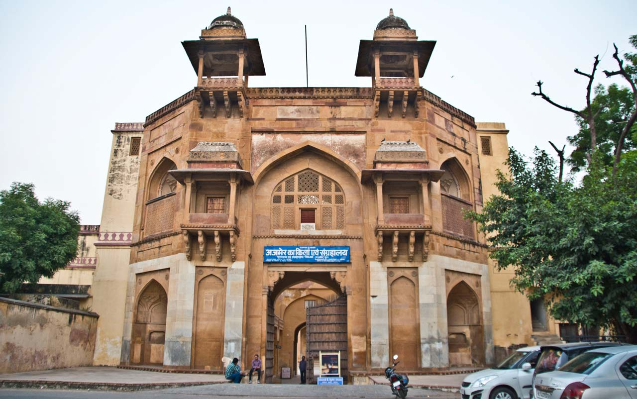 Akbar palace and museum Ajmer