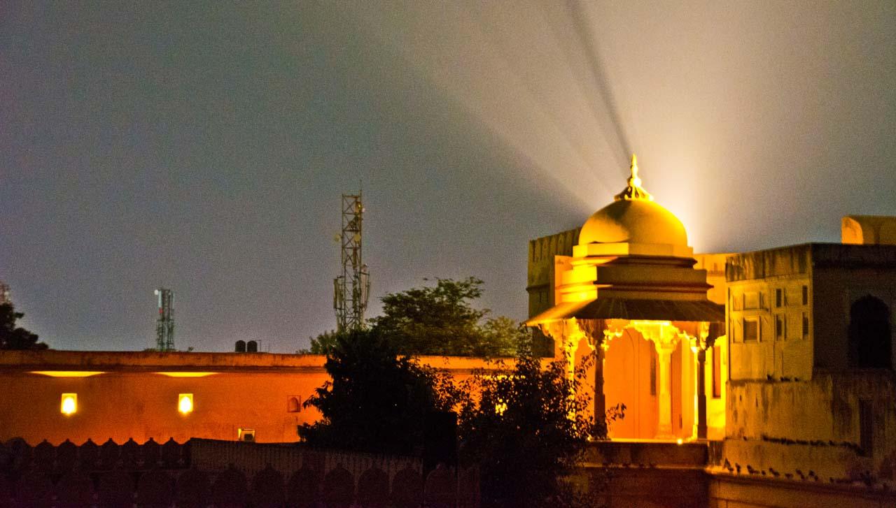 Akbar palace Light and sound show Ajmer