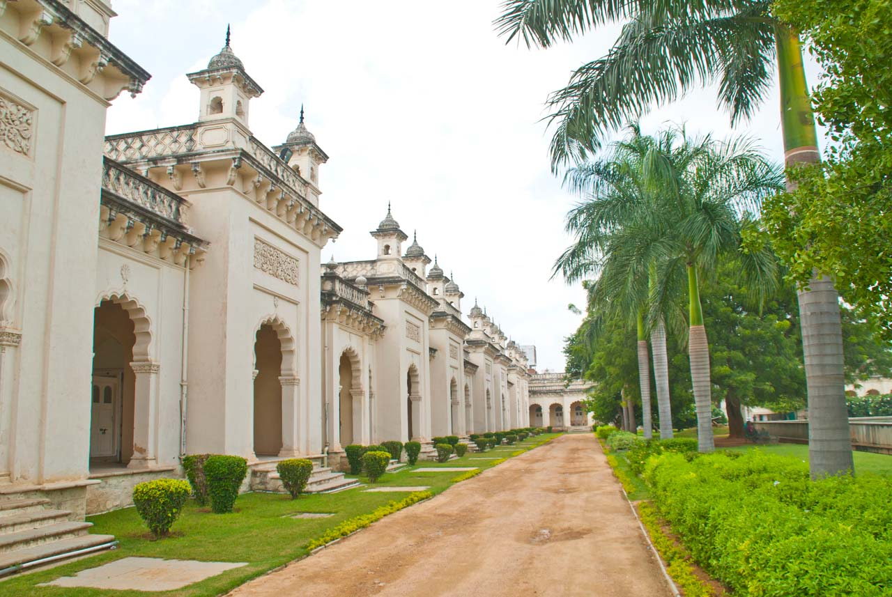 Things to do in Hyderabad India Chowmahalla palace clock tower