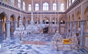 Things to do in Hyderabad India Chowmahalla palace hall