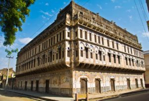 Old haveli of Ramgarh Rajasthan