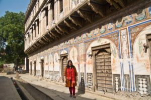 Old haveli of Ramgarh Rajasthan