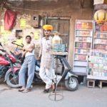 Pushkar market tea seller