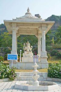 Birla temple jaipur outside