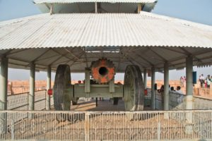 Canon in Jaigarh fort jaipur