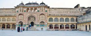 Gate inside Amber fort jaipur