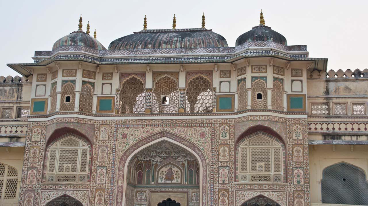 Gate inside Amer fort jaipur