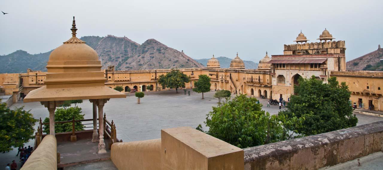 Inside Amber fort jaipur