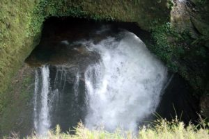 Davi's fall going underground