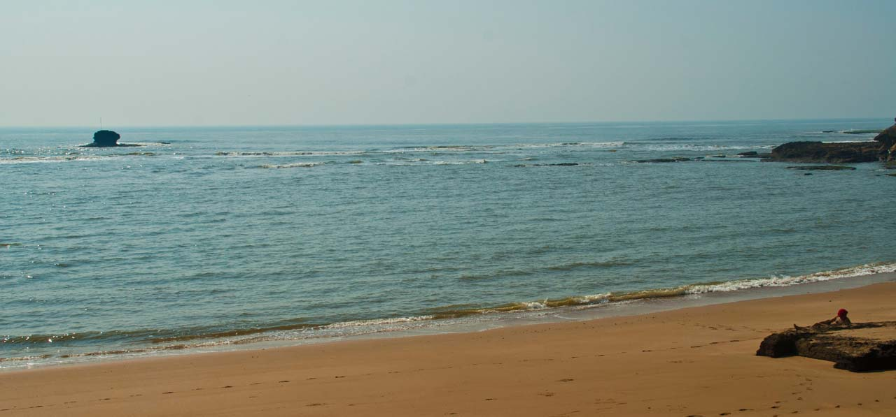 Jallandhar Beach Diu overview
