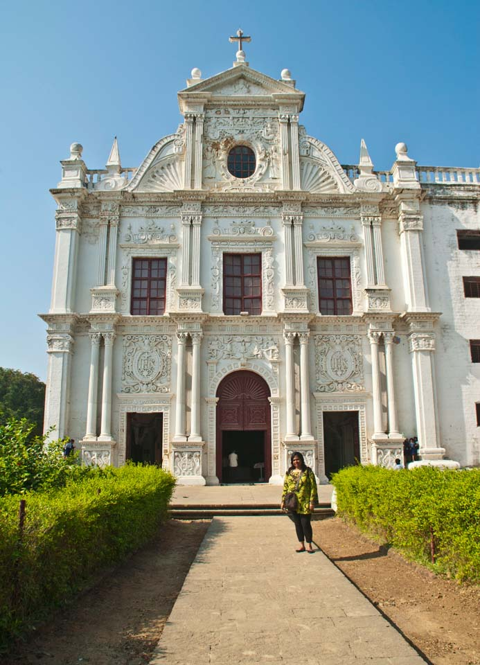 St Paul Church Diu front