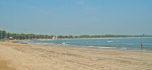 Nagoa beach overview diu island