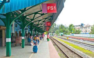 Nilgiri mountain railway Ooty station