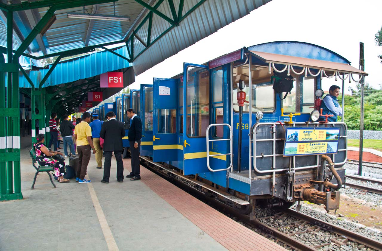 Nilgiri mountain railway at Ooty